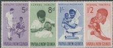 Papua New Guinea SG57-60 Health Services set of 4